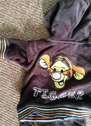 Kaufe meinen Artikel bei #Mamikreisel http://www.mamikreisel.de/kleidung-fur-jungs/sets-and-kombinationen/27575422-kuscheliger-tigger-anzug-in-grosse-62