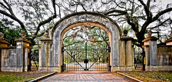 The Gate at Wormsloe