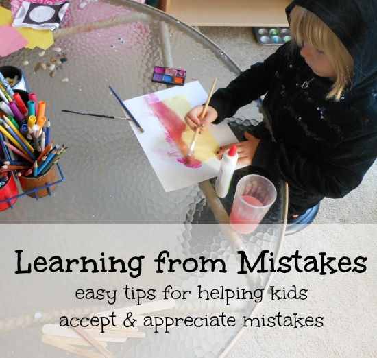 Learning from mistakes speech