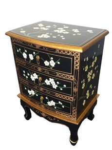 Blossom 3 Drawer Side Chest