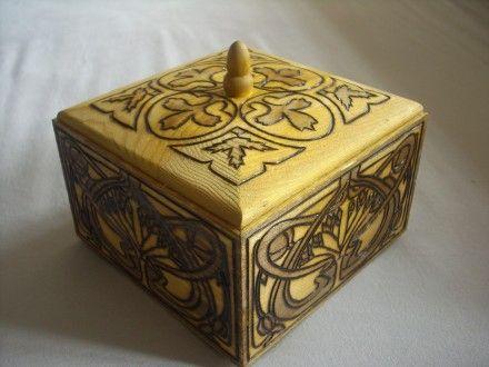 Coffret motif Art Nouveau