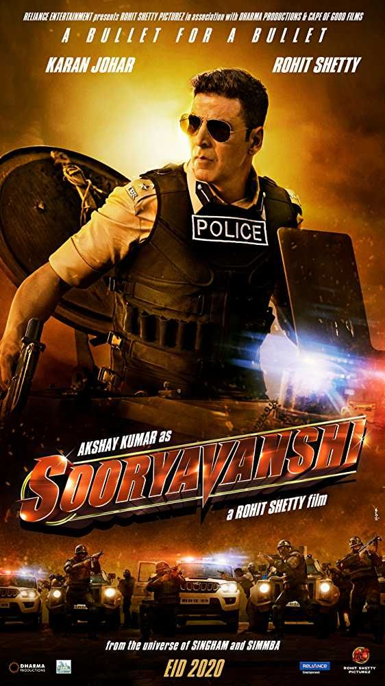 Sooryavanshi In 2020 Full Movies Download Latest Bollywood Movies Hindi Movie Film