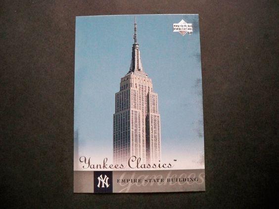 2004 UD Yankees Classics #89 Empire State Building NM/MT