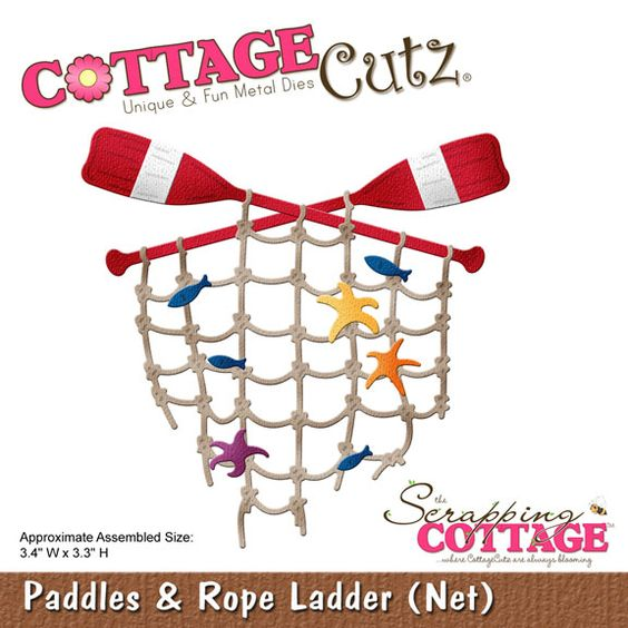 CottageCutz Paddles & Rope Ladder (Net)
