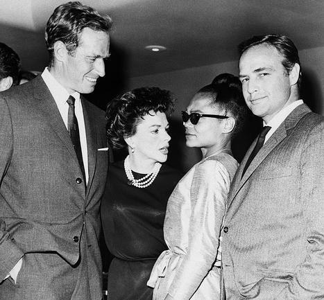 Charlton Heston, Judy Garland, Eartha Kitt & Marlon Brando