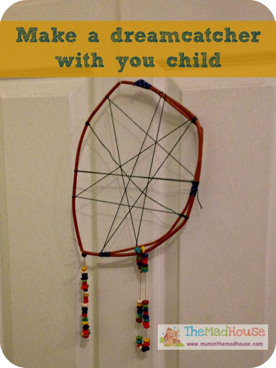 A super simple dreamcatcher perfect for younger children to make.
