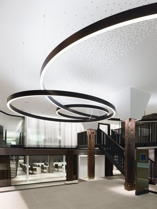 schorndorf town hall ippolito fleitz group circles dark wood and design. Black Bedroom Furniture Sets. Home Design Ideas