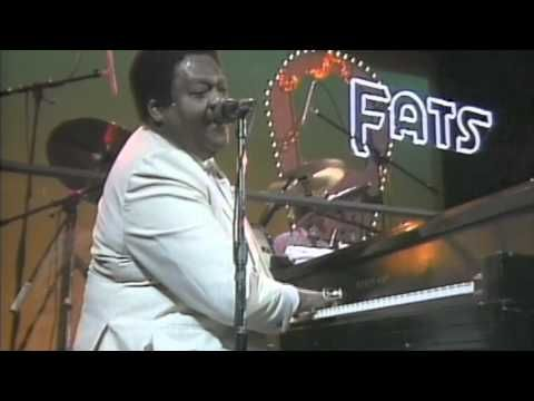 Fats Domino - Blueberry Hill-we lived down the road from Blueberry Hill-an ice cream shop!