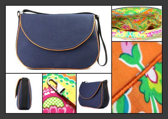 Neue Business Rebel #Bag in Marineblau von BELAINE Manufaktur auf DaWanda.com Steckt ein #Business #Rebel in dir?