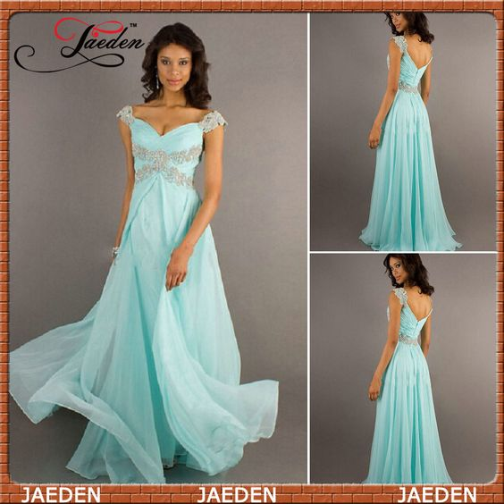 Cheap dress up dress, Buy Quality dress up wedding dresses directly from China dresses clothing Suppliers:>ModelShown<Stock9 Crystal A-Line Cap Sleeve Lady Dress Special Occasion Baeds Chiffon long Evening Dress 20