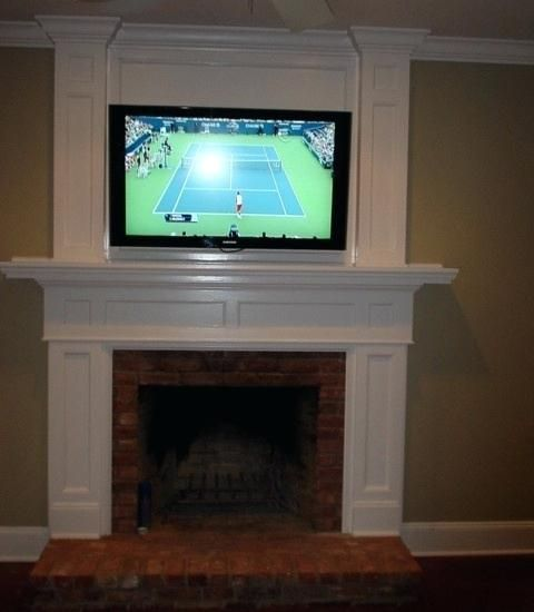 Mounting Tv Over Gas Fireplace Image Of Mounting Over Gas
