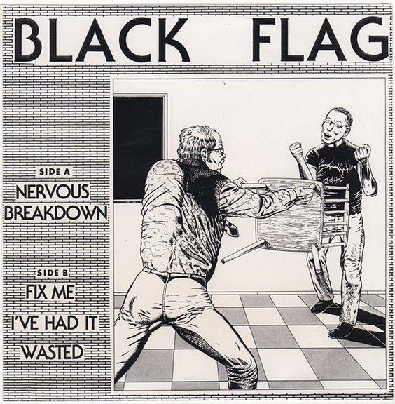 Black Flag – Nervous Breakdown E.P. 7″ | Killed By Death Records