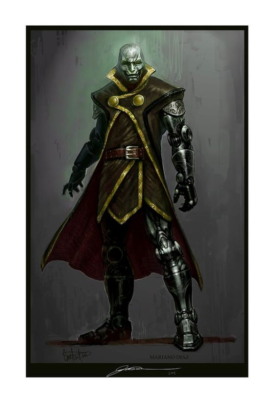 Dr. Doom concept art : Marvel