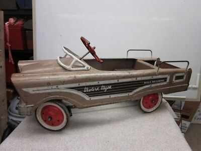 in the 50s every kid wanted one but only a few got one pedal carsvintage