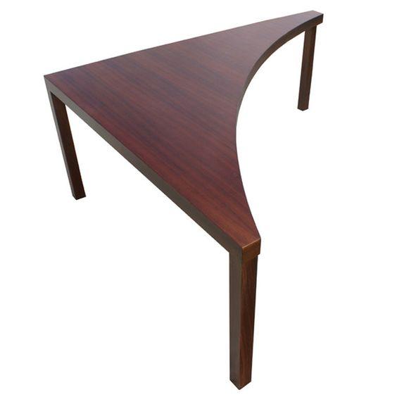 Sofa Corner Table Online: Corner Table In Walnut By Milo Baughman