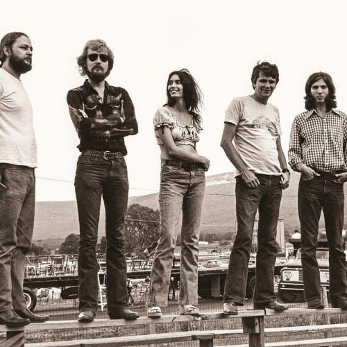Miss Emmylou Harris and The Angel Band, 1974