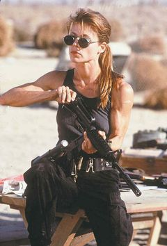 Sarah Connor (Linda Hamilton)  Terminator 2: Judgement Day