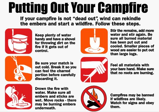 We all saw how devastating and out of control the #CapeFire was. Here are a few tips to ensure that your next camping trip will not cause destruction.