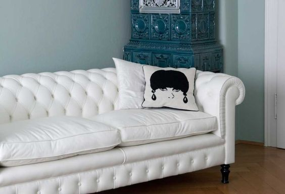 Chesterfield sofa weiss  Chesterfield Sofa weiss | Weisse Couch Countess aus England ...