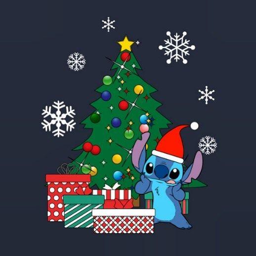 Stitch Disney On Instagram Ready For Christmas Stitch Stitchartwork Stitch Cute Christmas Wallpaper Christmas Phone Wallpaper Wallpaper Iphone Christmas Cool disney christmas wallpaper for