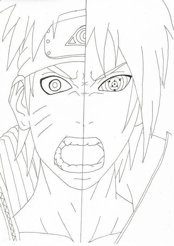 Pin On Naruto Sketch