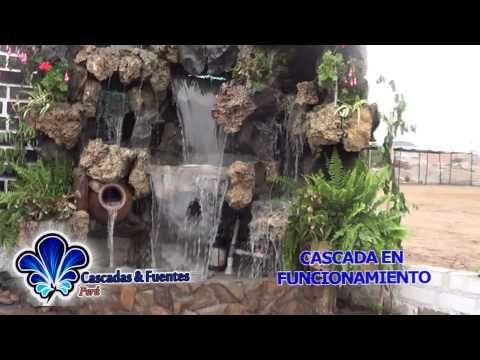 Cascadas artificiales fuentes de agua muro lloron velo - Muro de agua ...