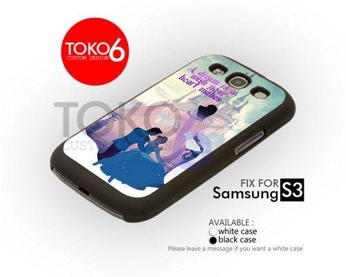 AJ 3423 Cinderella Quote - Samsung Galaxy III Case | toko6 - Accessories on ArtFire