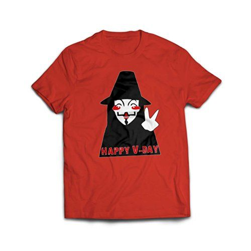 V for Vendetta Happy-V Day T Shirt