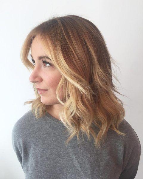 18+ Medium length hairstyle ideas