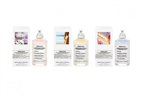 Maison Martin Margielas Replica-Parfumreihe. Out now.