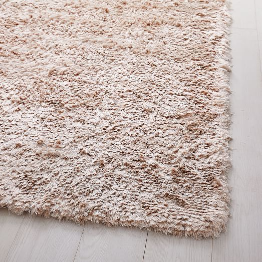 Glam Shag Rug Rose Gold With Images