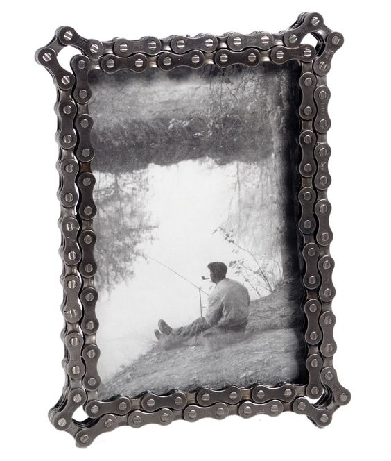 BIKE CHAIN FRAME | Bicycle Chain Picture Frame | UncommonGoods perfect for my bike theme