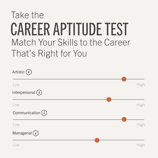 25+ best ideas about Career aptitude test free on Pinterest   Job ...