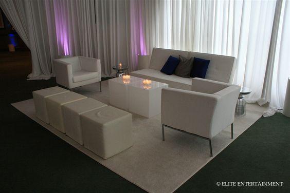 Lounge couch | Elite Entertainment | Elite Bridal