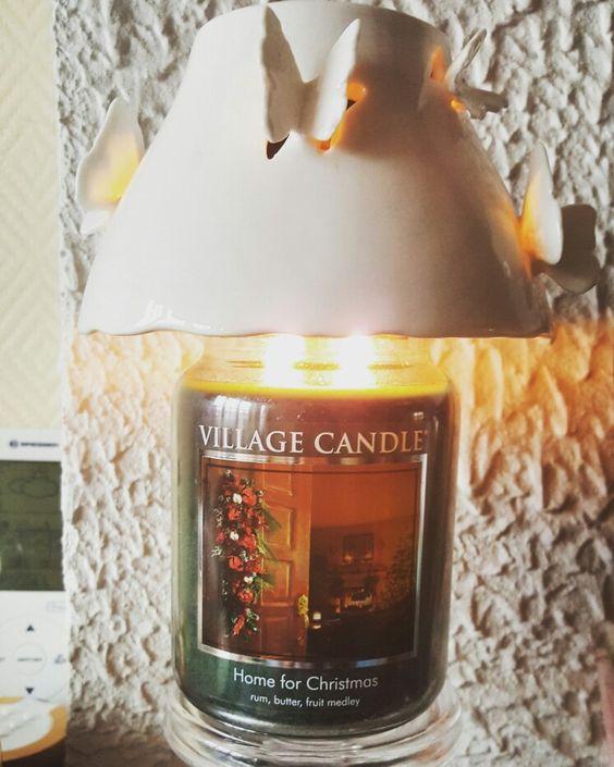 Grande jarre Home for Christmas de chez village candle