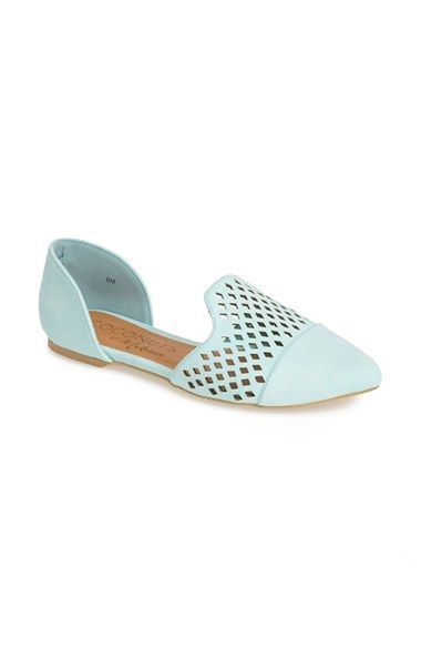 Coconuts by Matisse 'Elective' Laser Perforated d'Orsay Flat (Women) | Nordstrom