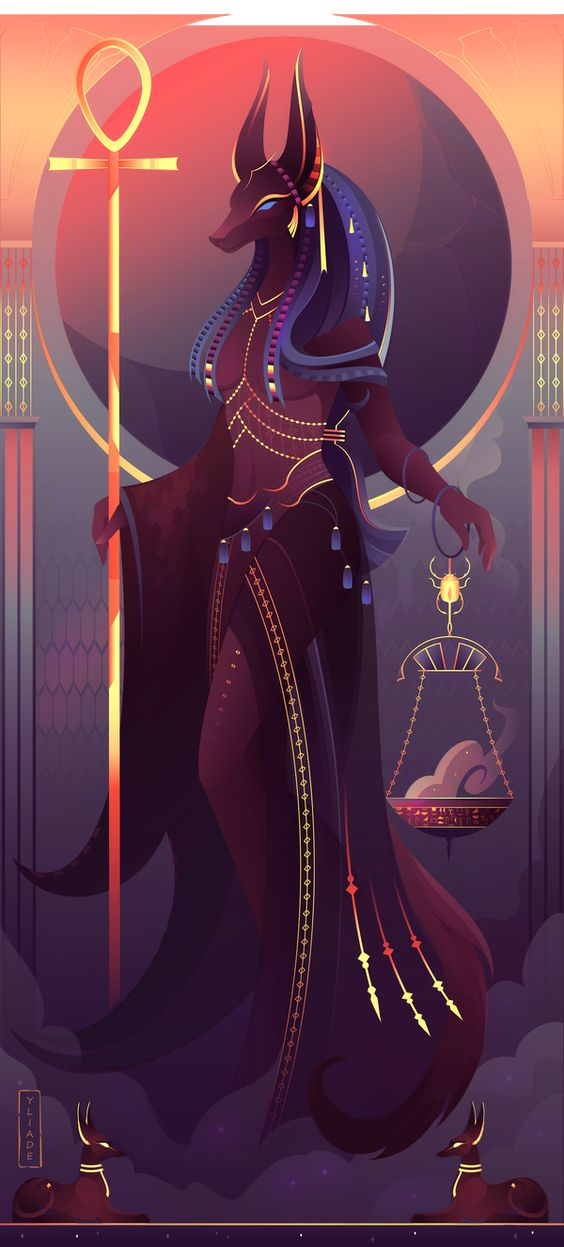 Anput ~Egyptian Gods by Yliade on DeviantArt
