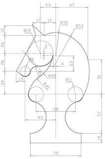 Technofun 3º Eso Ejercicios Para Autocad Ejercicios De Dibujo Tangencias Técnicas De Dibujo