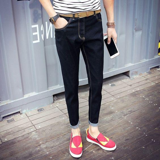 28.99$  Watch here - https://alitems.com/g/1e8d114494b01f4c715516525dc3e8/?i=5&ulp=https%3A%2F%2Fwww.aliexpress.com%2Fitem%2F2016-New-Arrival-Fashion-Black-Color-Slim-Straight-Leisure-Casual-Brand-Jeans-Men-Hot-Sale-Denim%2F32695650850.html - 2016 New Arrival Fashion Black Color Slim Straight Leisure & Casual Brand Jeans Men,Hot Sale Denim Cotton Men Jeans,FDK5803 28.99$