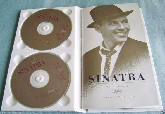 Frank Sinatra Complete Capital Singles Collection 4 CD Set Book Photos 96 Songs #ShowVocals