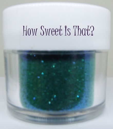 Emerald Disco Dust by Sunflower Sugar Art