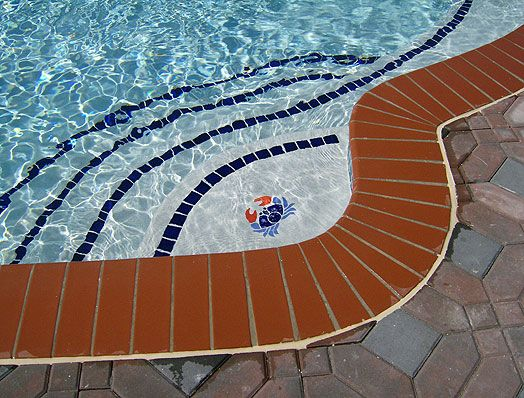 Inground pools brick or paver coping google search for In ground pool coping ideas