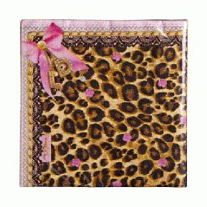 Little Diva Servetten Leopard (20 stuks)