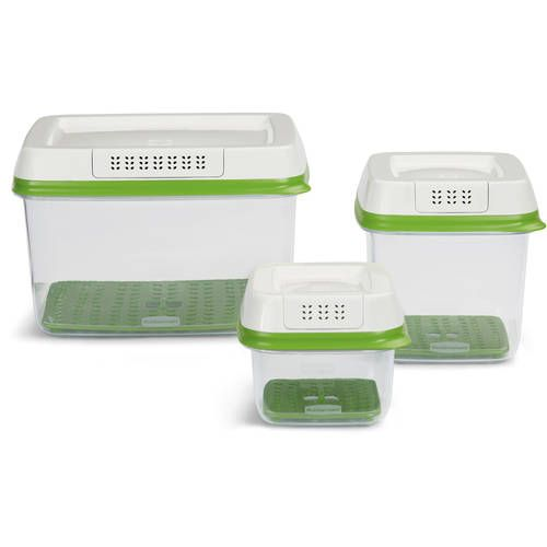 Rubbermaid Freshworks Produce Saver Food Storage Container With