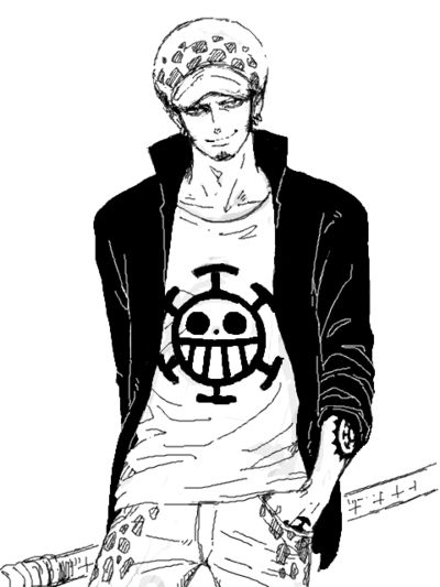 Trafalgar law one piece one piece pinterest one for Trafalgar law tattoos