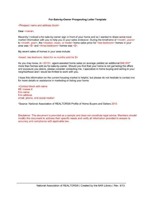 Real Estate Marketing Report Houseflipper Letter Templates