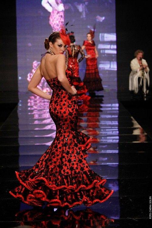 Trajes Tipicos y tradicionales del mundo: Trajes flamenco. España