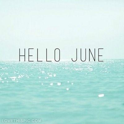 ''...los días de junio son los más largos del año. Junio es el mes de la luz, siendo el día 21 el más largo del año''