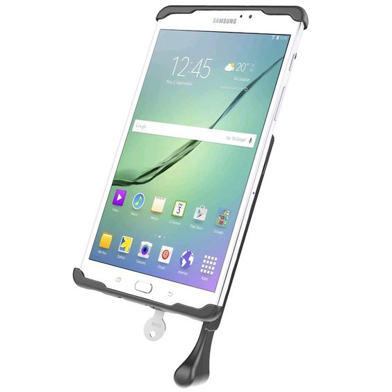 Ram Hol Tabl30u Ram Mounts Tab Lock Cradle For 8 Tablets Including The Samsung Galaxy Tab S2 8 0 Tablet Galaxy Tab Samsung Galaxy Tab