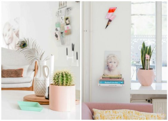 The Romance Between Succulents and Pastels | construction2style